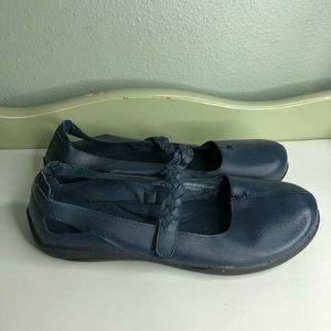 Dr scholls shoes maryjanes women size 10W blue